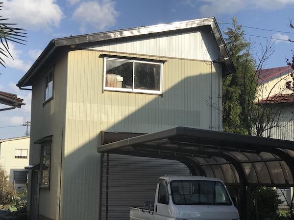 上越市高田地内M様邸の屋根塗装を行いました。完成!!