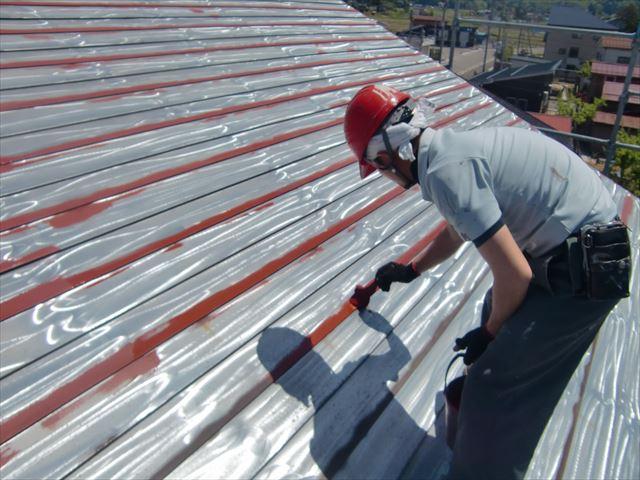 屋根塗装 錆止め
