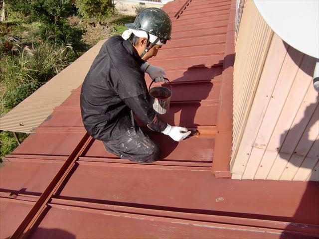 住宅屋根塗装 さび止め