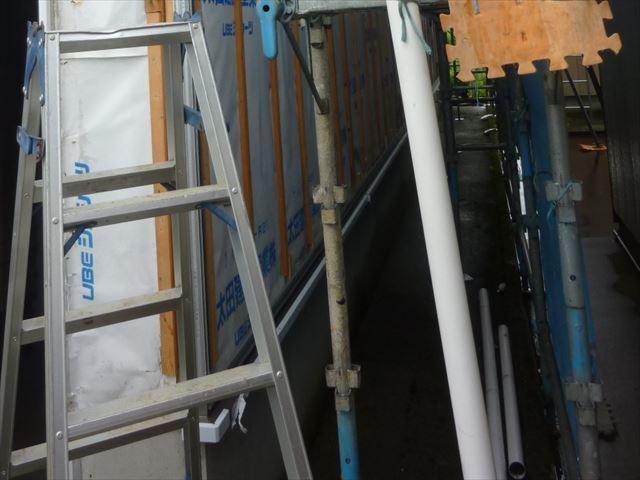 外壁張替え 土台水切