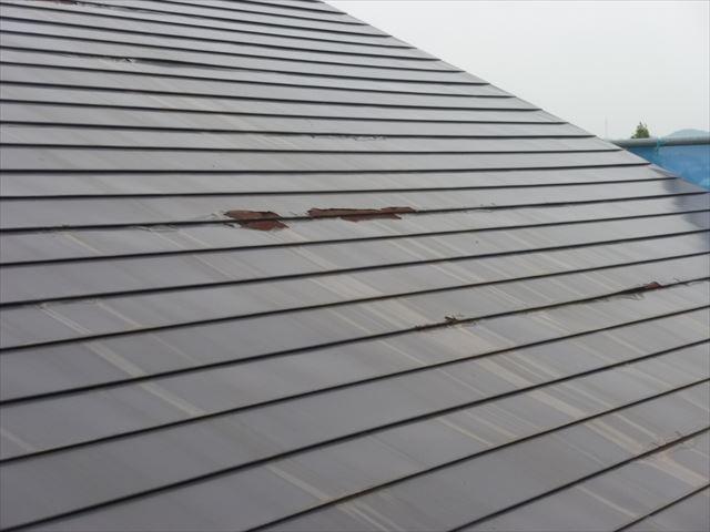 外壁塗装 既存屋根状況