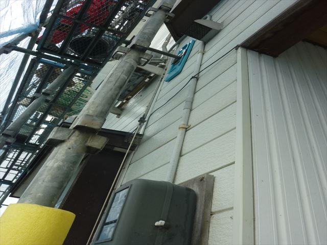 外壁工事 エアコン工事