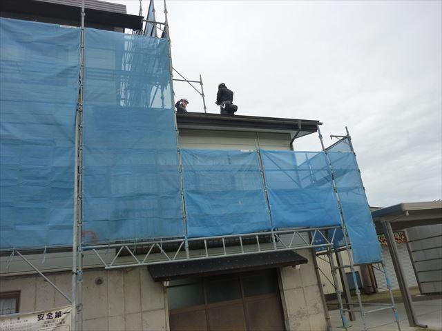 外壁塗装 屋根調査