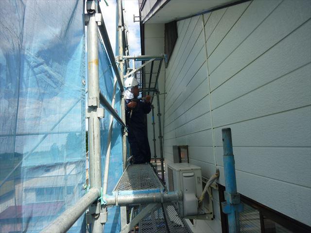 外壁工事 高圧洗浄