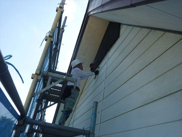 外壁工事 飾り格子工事