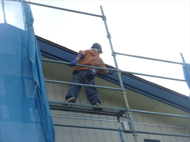 外壁塗装 破風板