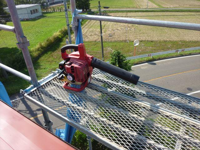 屋根塗装 送風機