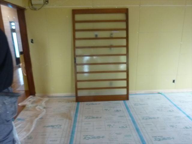 内部塗装 建具塗装