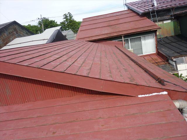 雪国の屋根N