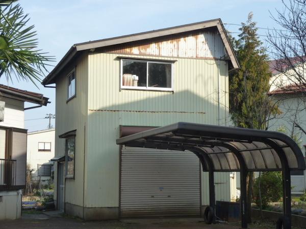 上越市高田地内で作業小屋、車庫の現場調査を行いました。