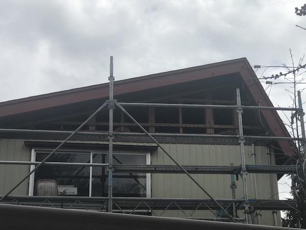 上越市高田地内で外壁張り替え工事を行いました!